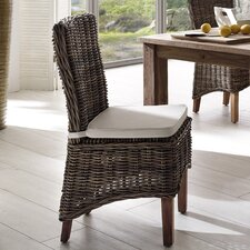 Wickerworks Dining Side Chair with Cushion