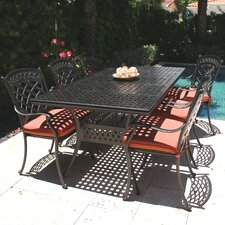 ComfortCare 7 Piece Outdoor Dining Set