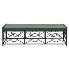 Coupon Metal and Fabric Picnic Bench