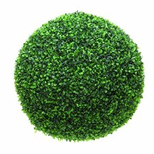 Polyester Boxwood Ball Topiary