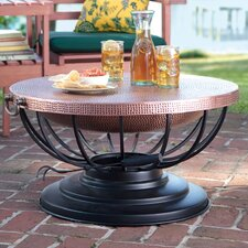 Copper Fire Pit Table