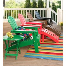 Wooden Adirondack Chair