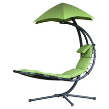 Suspended Lounger Dream Chair with Umbrella
