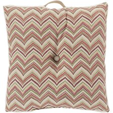 Charm in Chevron Outdoor Pillow Cover