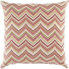 Marvelous in Chevron Outdoor Throw Pillow