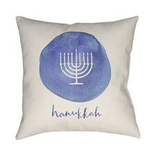 Massingill Hannukah Indoor/Outdoor Throw Pillow