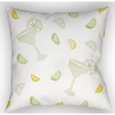 Tisha Margarita Indoor/Outdoor Throw Pillow