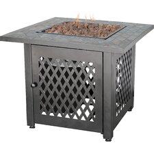 Uniflame Cast Iron Fire Pit Table