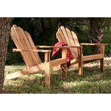 Lakeside Adirondack Chair and Ottoman