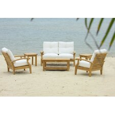 Cayman 6 Piece Deep Seating Group with Cushions