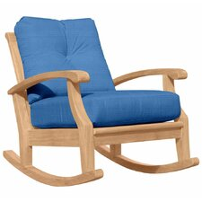 Cayman Deep Seating Rocking Chair with Cushion