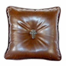 Savings Pancho Tobacco Throw Pillow