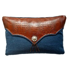 Croc Auburn and Tuscany Lumbar Pillow