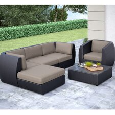 Wonderful Seattle 6 Piece Lounge Seating Group with Cushion