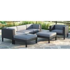 Great price Oakland 6 Piece Lounge Seating Group with Cushions