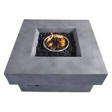 Diablo Concrete Fiber Propane Fire Pit Table