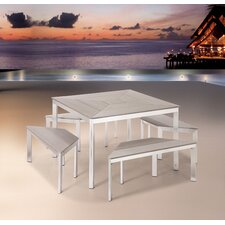 Center Aluminum Bench