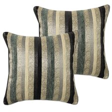 2017 Coupon Multi-Stripe Jacquard Decorative Throw Pillow (Set of 2)