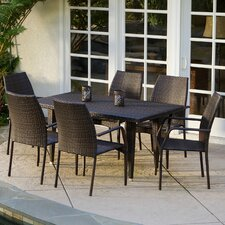 Panos 7 Piece Outdoor Dining Set
