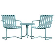 Erato Aidan 3 Piece Lounge Seating Group