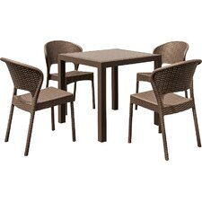 Aries 5 Piece Dining Set