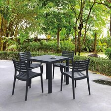 Nikoleta 5 Piece Dining Set