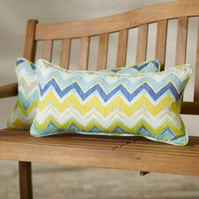 Leontion Chevron Indoor/Outdoor Lumbar Pillow Set