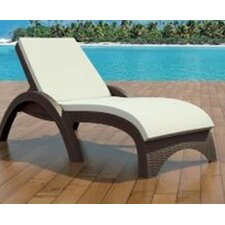 Kassiopeia Outdoor Chaise Lounge Cushion (Set of 2)