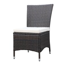 Lovely Lachesis Dining Side Chair with Cushion (Set of 2)