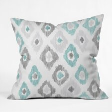 Cletus Quiet Ikat Outdoor Throw Pillow