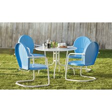 Timothea 5 Piece Dining Set