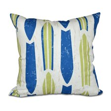 Astor Place Geometric Outdoor Throw Pillow