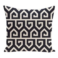 Nikanor Geometric Outdoor Throw Pillow