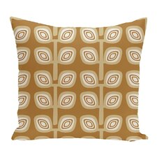 Find Philon Leaf Tree Geometric Outdoor Throw Pillow