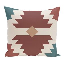Cleon Geometric Outdoor Throw Pillow