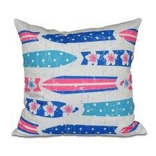 Astor Place Geometric Outdoor Throw Pillow