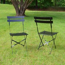 Bleigh Folding Dining Side Chair (Set of 2)