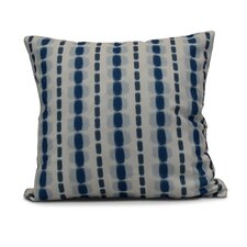 Eisner Watercolor Stripe Indoor/Outdoor Throw Pillow