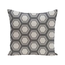 Cheap Australe Geometric Print Outdoor Pillow