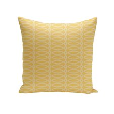 Belgica Geometric Decorative Outdoor Pillow