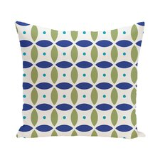 Berenices Geometric Print Outdoor Pillow
