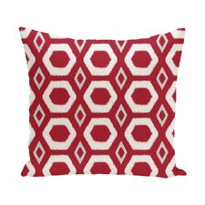 Berna Geometric Print Outdoor Pillow