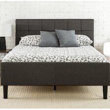 Amici Upholstered Platform Bed  Mercury Row®