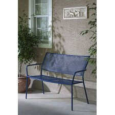Alcorn Wrought Iron Garden Bench