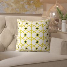 Ahlstrom Citron Indoor/outdoor Throw Pillow