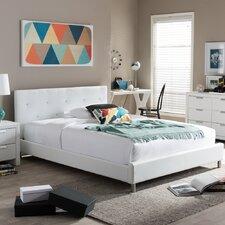 Iversen Upholstered Platform Bed  Mercury Row®