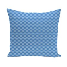 Sevin Geometric Print Outdoor Pillow
