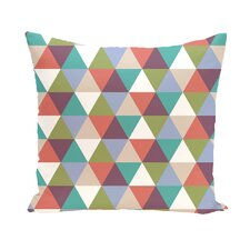 Seybert Geometric Print Outdoor Pillow