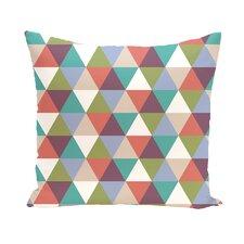 Seybert Geometric Print Outdoor Pillow
