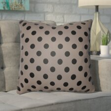 Phi Halloween Polkadots Indoor/Outdoor Throw Pillow